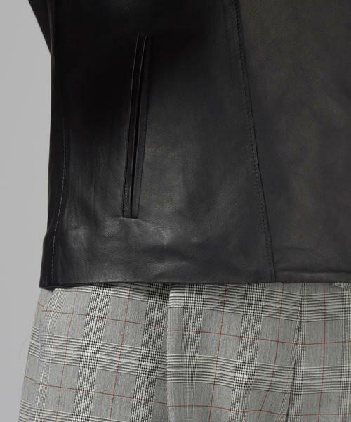 Droite lautreamont / ドロワットロートレアモン テーラードジャケット | レザージャケット | 詳細7