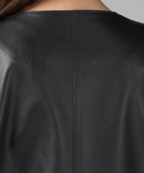Droite lautreamont / ドロワットロートレアモン テーラードジャケット | レザージャケット | 詳細8