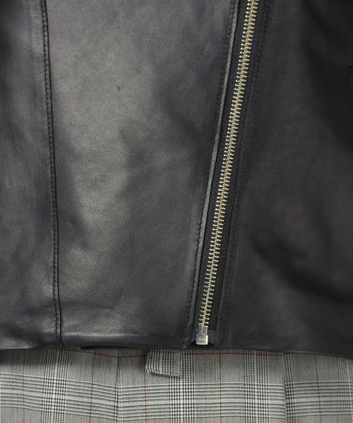 Droite lautreamont / ドロワットロートレアモン テーラードジャケット | レザージャケット | 詳細9