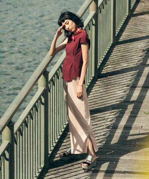 Droite lautreamont / ドロワットロートレアモン Tシャツ | ランダムリブストレッチフレンチT | 詳細3