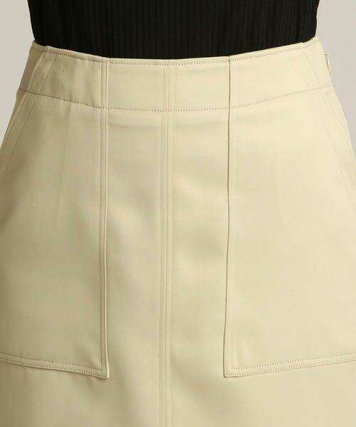 Droite lautreamont / ドロワットロートレアモン スカート | 【雑誌掲載】レザーライクサテンスカート | 詳細3