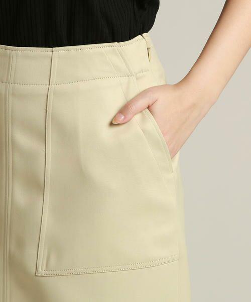 Droite lautreamont / ドロワットロートレアモン スカート | 【雑誌掲載】レザーライクサテンスカート | 詳細4