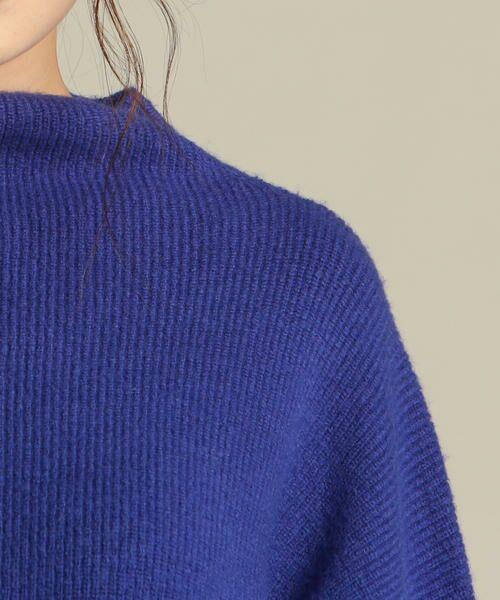 Droite lautreamont / ドロワットロートレアモン ニット・セーター | 【雑誌掲載】片畔袖変形プルオーバ | 詳細5