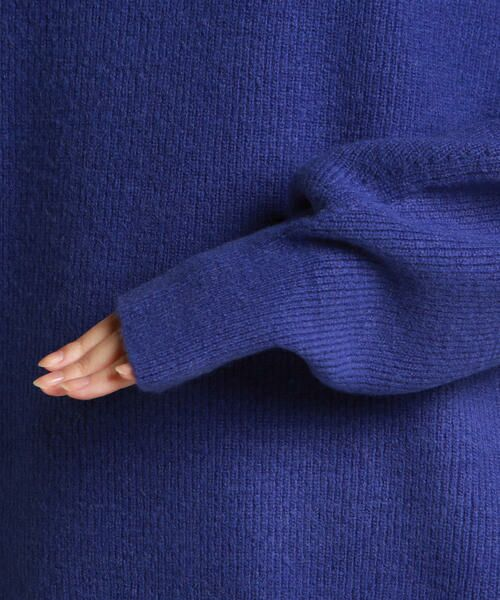 Droite lautreamont / ドロワットロートレアモン ニット・セーター | 【雑誌掲載】片畔袖変形プルオーバ | 詳細6
