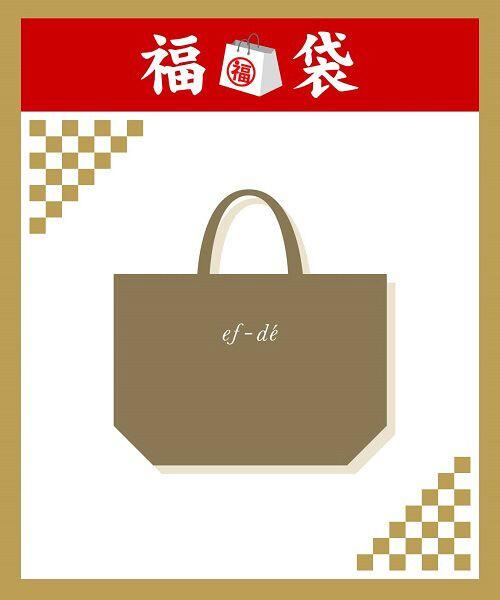 ef-de L / エフデ(エルサイズ) 福袋系 | 《大きいサイズef-de》ニットが充実!1万円福袋(その他)