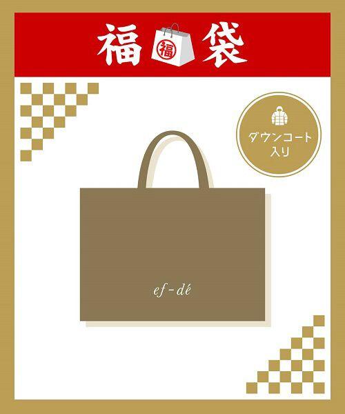 ef-de L / エフデ(エルサイズ) 福袋系   《大きいサイズef-de》ダウンコート入り!2万円福袋(その他)