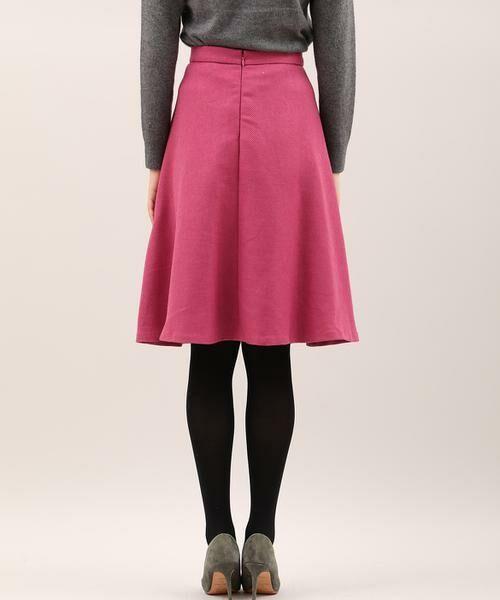 ef-de / エフデ ミニ・ひざ丈スカート | サイドビジューアクセントスカート | 詳細3
