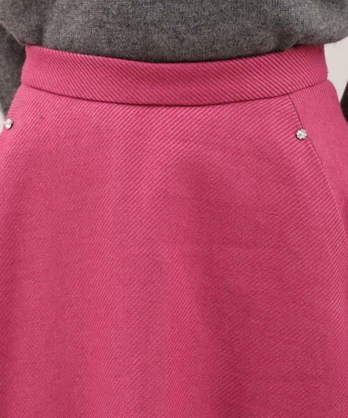 ef-de / エフデ ミニ・ひざ丈スカート | サイドビジューアクセントスカート | 詳細4
