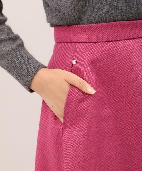 ef-de / エフデ ミニ・ひざ丈スカート | サイドビジューアクセントスカート | 詳細6