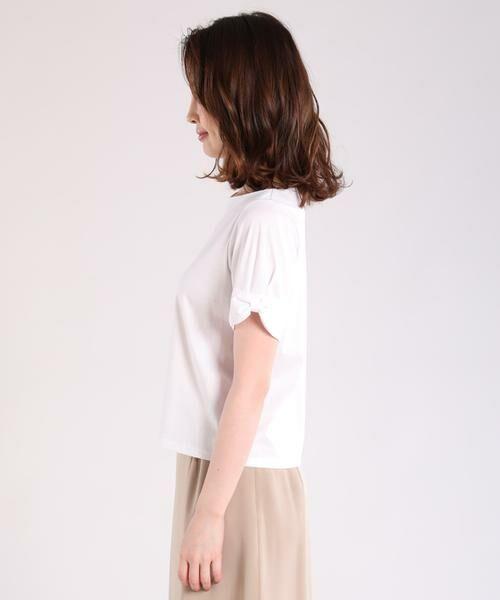 ef-de / エフデ Tシャツ | リボンデザインカットソー | 詳細3