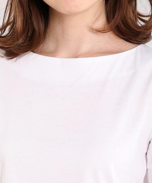 ef-de / エフデ Tシャツ | リボンデザインカットソー | 詳細5
