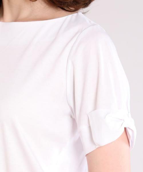 ef-de / エフデ Tシャツ | リボンデザインカットソー | 詳細6