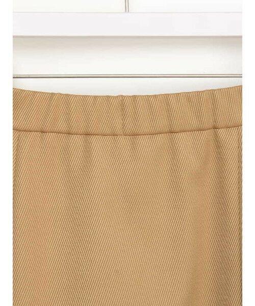 ensuite(大きいサイズ) / エンスウィート(おおきいサイズ) ミニ・ひざ丈スカート | 【エンスウィート】ラップ風ボタンスカート | 詳細3