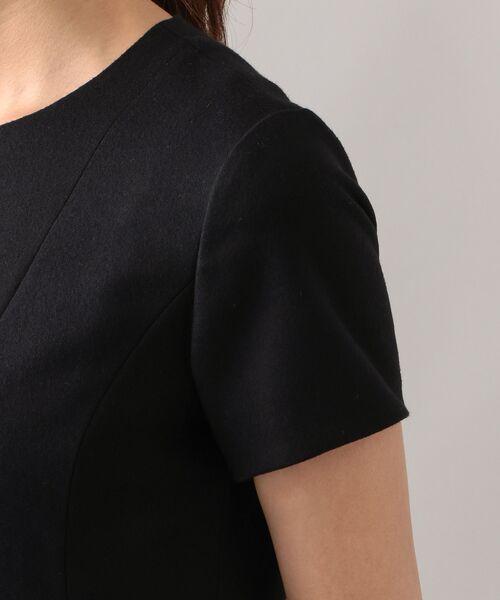 EPOCA / エポカ ロング・マキシ丈ワンピース | エアーフラノ ドレス | 詳細4