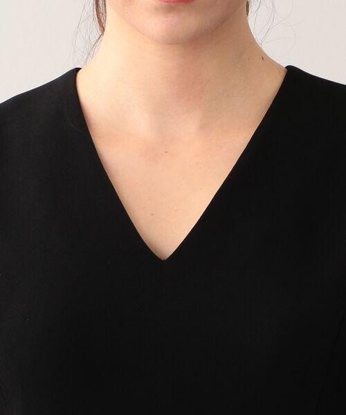 EPOCA / エポカ ロング・マキシ丈ワンピース | 【Andre Laude】リバーレースコンビジョーゼット ドレス | 詳細4