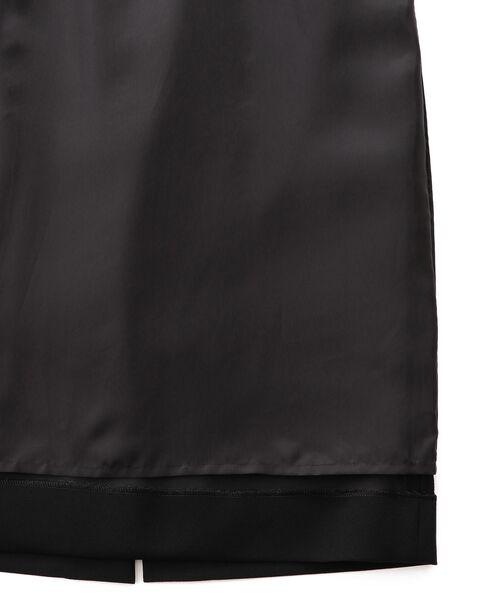 EPOCA / エポカ ロング・マキシ丈ワンピース | 【Andre Laude】リバーレースコンビジョーゼット ドレス | 詳細9
