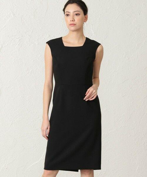 EPOCA / エポカ ロング・マキシ丈ワンピース | 【24 TWENTY FOUR Noble】 ドレス(ブラック1)
