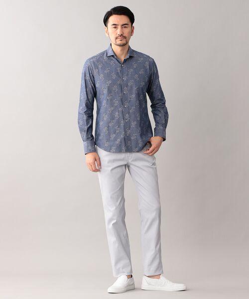 EPOCA UOMO / エポカ ウォモ シャツ・ブラウス   コードフラワー ホリゾンタルカラーシャツ   詳細2