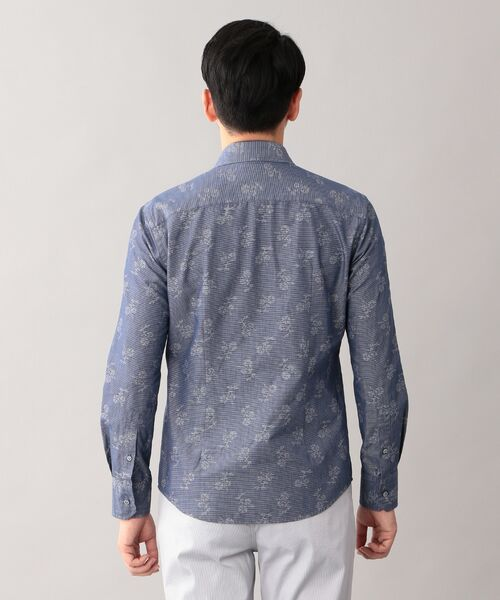 EPOCA UOMO / エポカ ウォモ シャツ・ブラウス   コードフラワー ホリゾンタルカラーシャツ   詳細4
