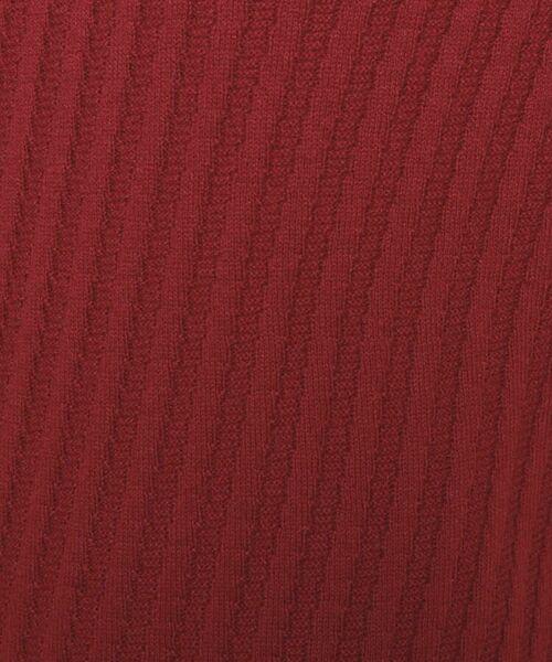 esche / エッシュ ニット・セーター | ホールガーメント(R)柄編みボートネックニット | 詳細6
