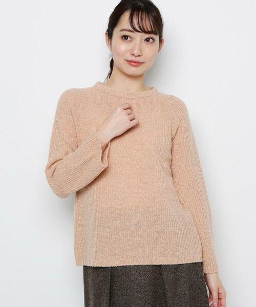 esche / エッシュ ニット・セーター | ウール混ホールガーメント(R)ニット(ライトオレンジ(066))
