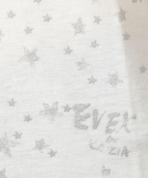 EVEX by KRIZIA  (大きいサイズ) / エヴェックス バイ クリツィア (オオキイサイズ) その他トップス | 【L】【ウォッシャブル】ロゴスタープリントカットソー | 詳細9