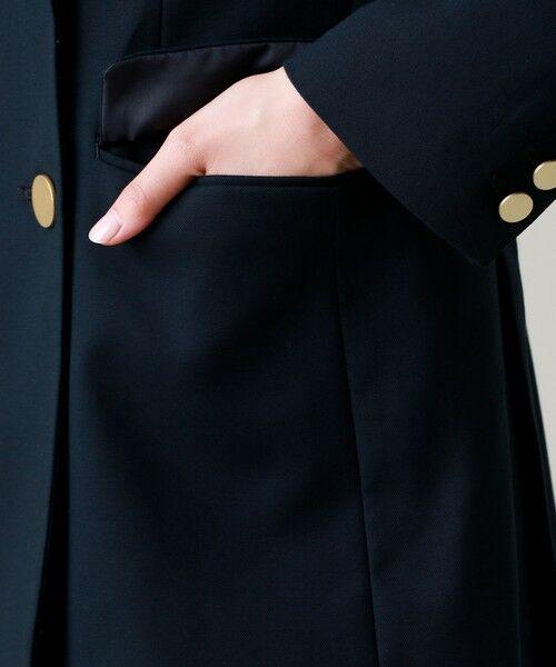 EVEX by KRIZIA  (大きいサイズ) / エヴェックス バイ クリツィア (オオキイサイズ) テーラードジャケット | 【L】エンブレムブレザージャケット | 詳細10