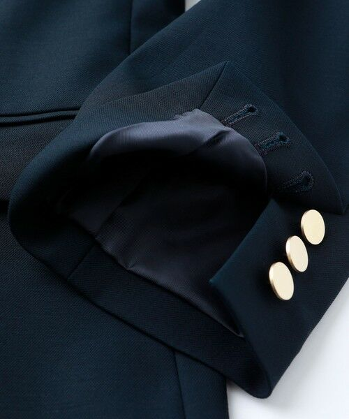 EVEX by KRIZIA  (大きいサイズ) / エヴェックス バイ クリツィア (オオキイサイズ) テーラードジャケット | 【L】エンブレムブレザージャケット | 詳細11
