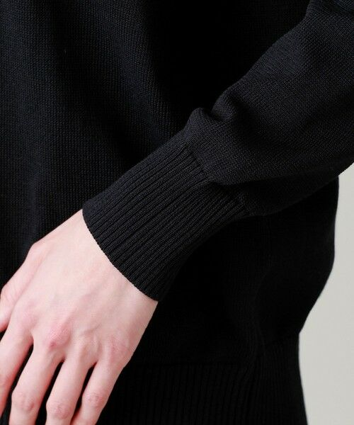 EVEX by KRIZIA  (大きいサイズ) / エヴェックス バイ クリツィア (オオキイサイズ) その他トップス | 【L】【ウォッシャブル】ブロッキングニット | 詳細10