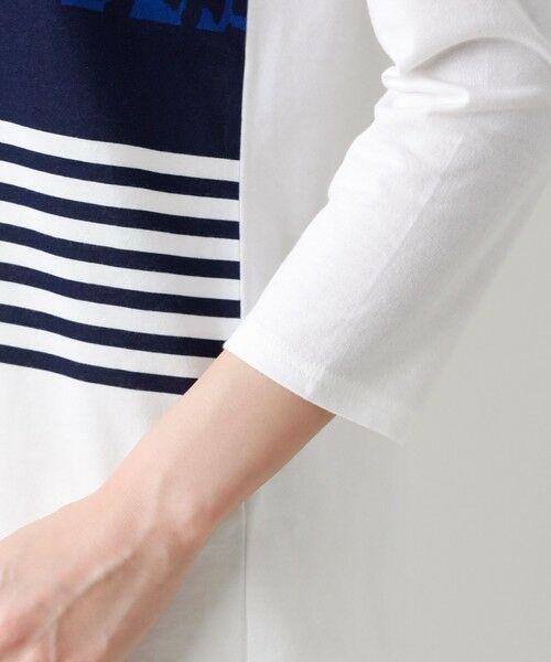 EVEX by KRIZIA  (大きいサイズ) / エヴェックス バイ クリツィア (オオキイサイズ) その他トップス   【L】【ウォッシャブル】パネルパンサーカットソー   詳細9