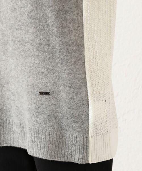 EVEX by KRIZIA / エヴェックス バイ クリツィア その他トップス | *eclat掲載*カラーブロッキングタムニット | 詳細8