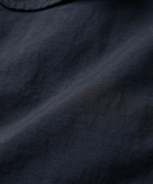 EVEX by KRIZIA / エヴェックス バイ クリツィア ノーカラージャケット   【ウォッシャブル】【はっ水】タスランエアライトサファリジャケット   詳細12