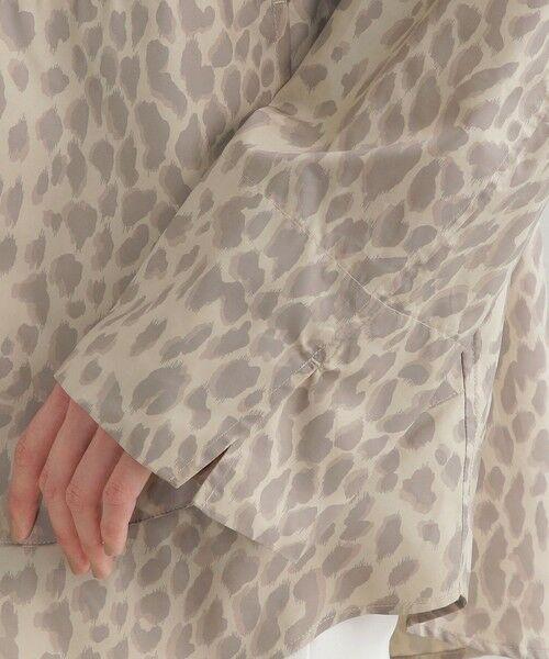 EVEX by KRIZIA / エヴェックス バイ クリツィア ノーカラージャケット | 【はっ水】【ウォッシャブル】パンサーシレータフタブルゾン | 詳細7