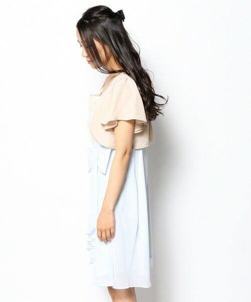 7d18fad140486 セール リボンドレープドレスWithボレロ (ミニ丈・ひざ丈ワンピース ...