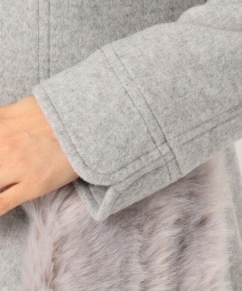 Feroux / フェルゥ その他アウター | 【WEB限定カラー有!】Jewelryモッサ ウールコート | 詳細15