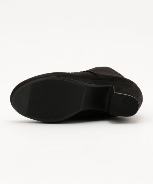 Feroux / フェルゥ ブーツ(ショート丈) | フロントフェイクファスナーショートブーツ | 詳細3