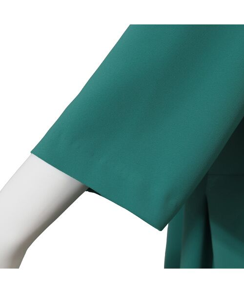 Fitme Moi / フィットミーモア シャツ・ブラウス | ストレッチペプラムデザインプルオーバー | 詳細11