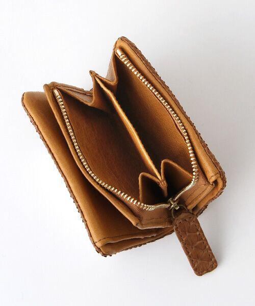 genten / ゲンテン 財布・コインケース・マネークリップ | genten ゲンテン ダイヤモンドパイソンII 二つ折り財布 | 詳細4