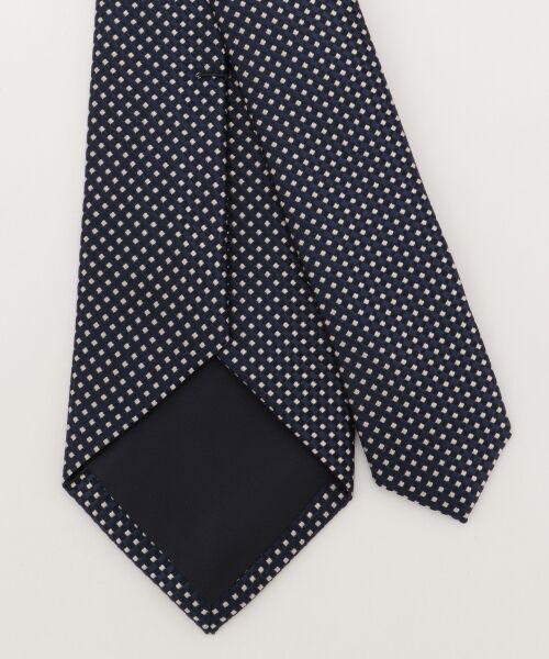 gotairiku / ゴタイリク ネクタイ | 【五大陸/日本製】西陣織ネクタイ バスケット織り | 詳細6