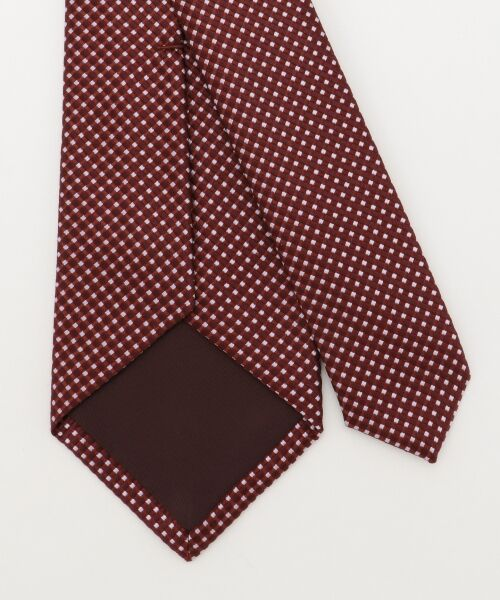 gotairiku / ゴタイリク ネクタイ | 【五大陸/日本製】西陣織ネクタイ バスケット織り | 詳細9