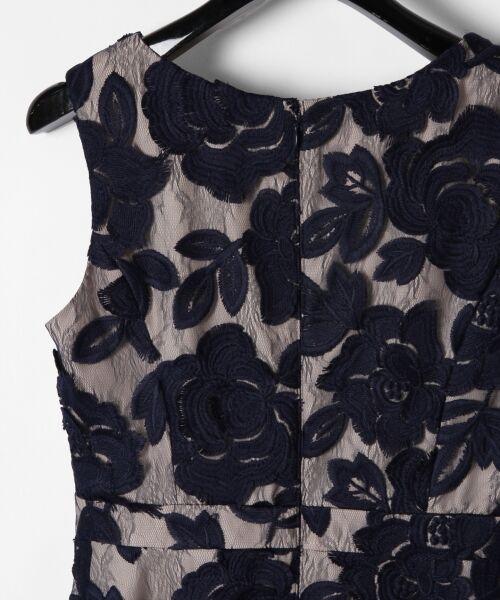GRACE CONTINENTAL / グレースコンチネンタル ドレス | 配色ローズレースワンピース | 詳細2