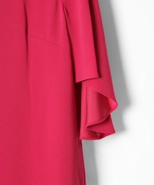 GRACE CONTINENTAL / グレースコンチネンタル ドレス | フレアスリーブパールワンピース | 詳細2