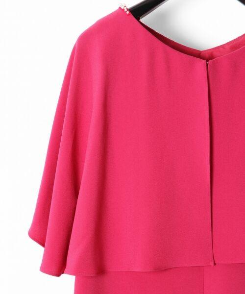 GRACE CONTINENTAL / グレースコンチネンタル ドレス | フレアスリーブパールワンピース | 詳細4