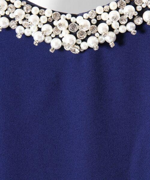 GRACE CONTINENTAL / グレースコンチネンタル ドレス | フレアスリーブパールワンピース | 詳細9