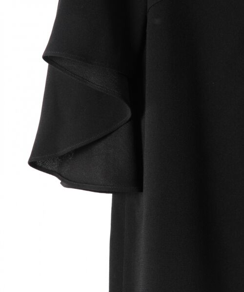 GRACE CONTINENTAL / グレースコンチネンタル ドレス | フレアスリーブパールワンピース | 詳細12