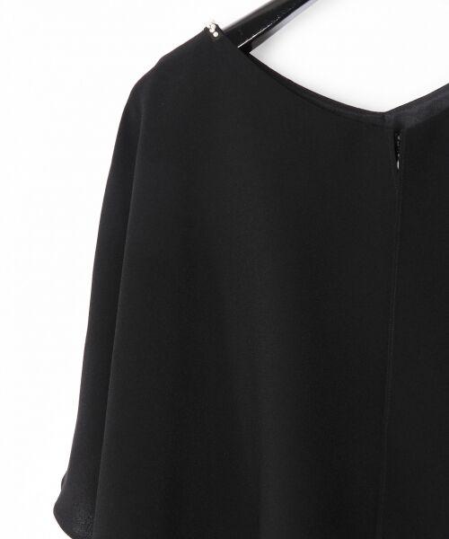 GRACE CONTINENTAL / グレースコンチネンタル ドレス | フレアスリーブパールワンピース | 詳細14