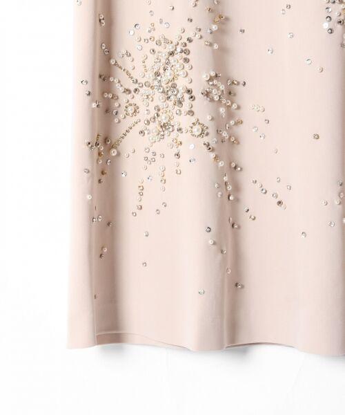 GRACE CONTINENTAL / グレースコンチネンタル ドレス | ビジューAラインワンピース | 詳細2
