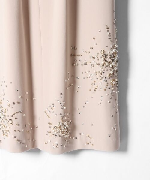 GRACE CONTINENTAL / グレースコンチネンタル ドレス | ビジューAラインワンピース | 詳細5