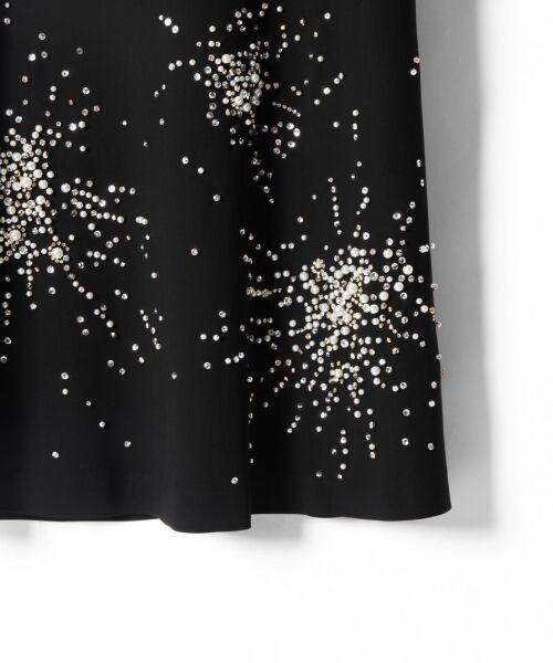 GRACE CONTINENTAL / グレースコンチネンタル ドレス | ビジューAラインワンピース | 詳細10