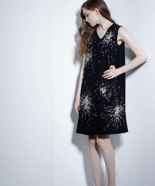 GRACE CONTINENTAL / グレースコンチネンタル ドレス | ビジューAラインワンピース | 詳細6